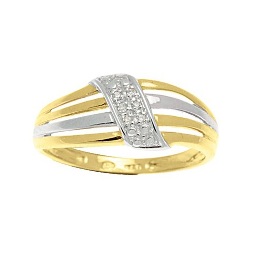 Bague Diamants 2 ors
