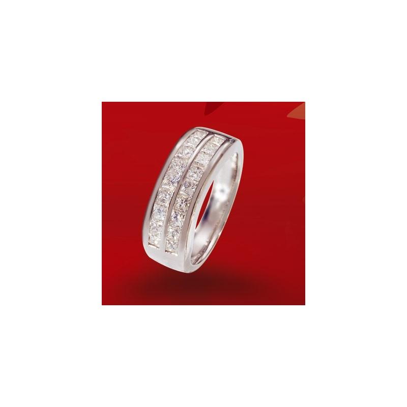 Demi alliance diamants n° 3