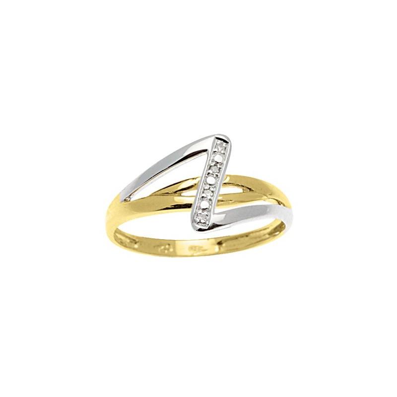 Bague Diamants 2 ors
