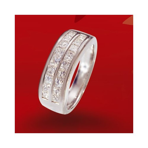 Demi-alliance diamants n°3