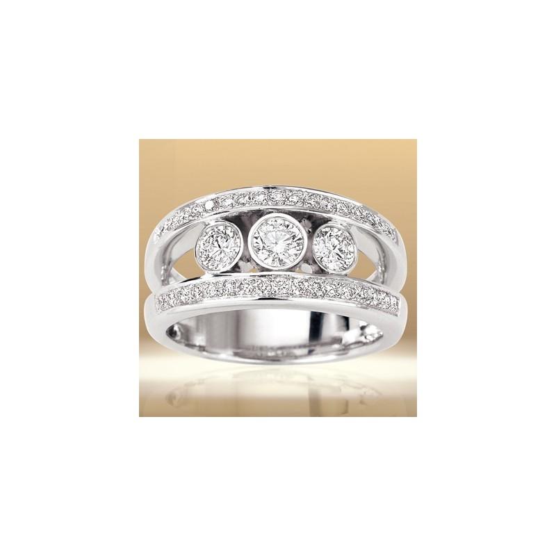 Bague Diamants 4