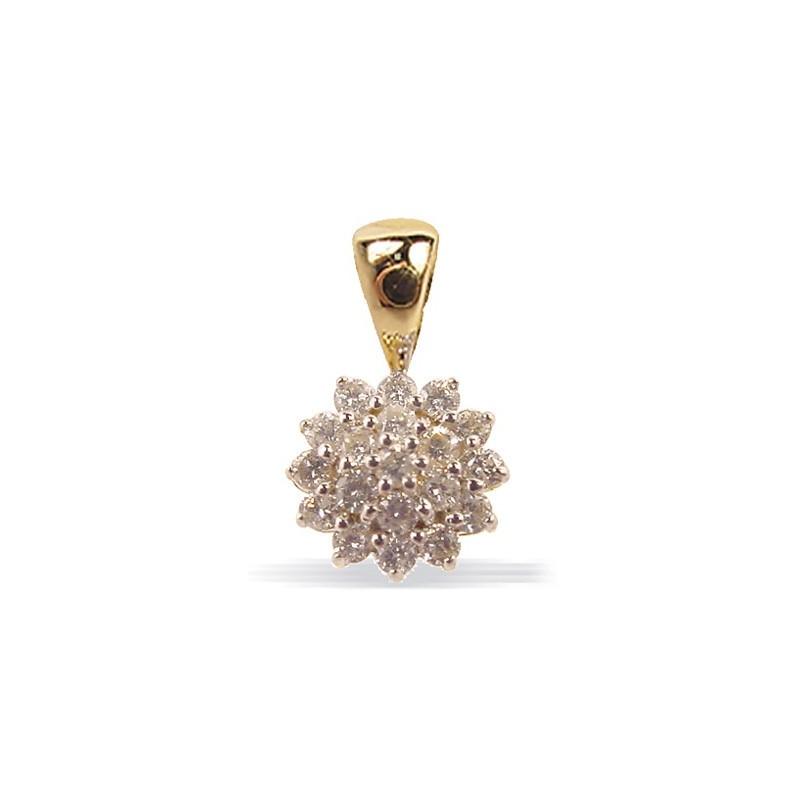 Pendentif diamants n°6