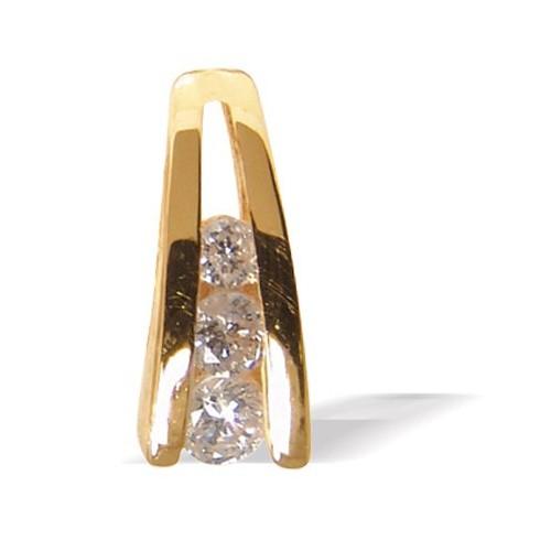 Pendentif diamants n°1
