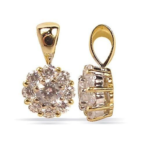 Pendentif diamants n°3